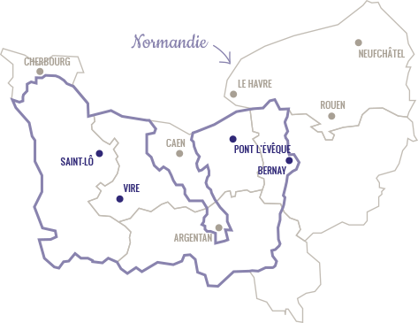 Carte Pont-l'Evêque