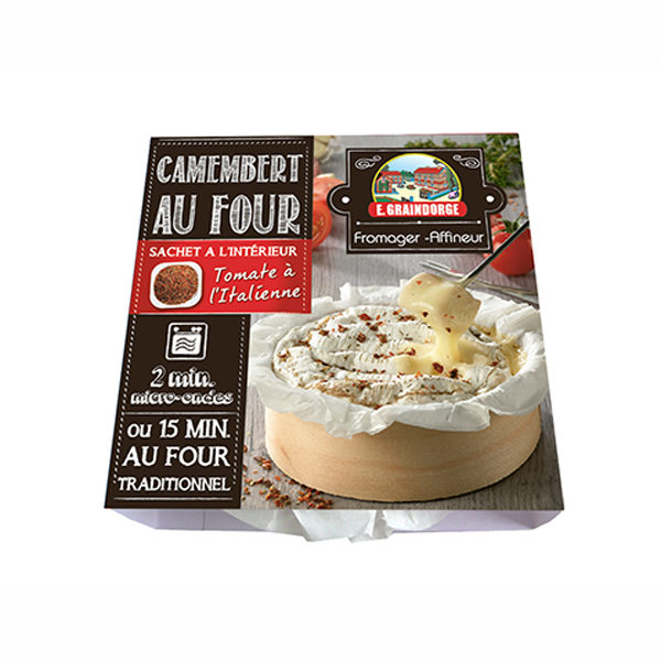 Petit camembert au four
